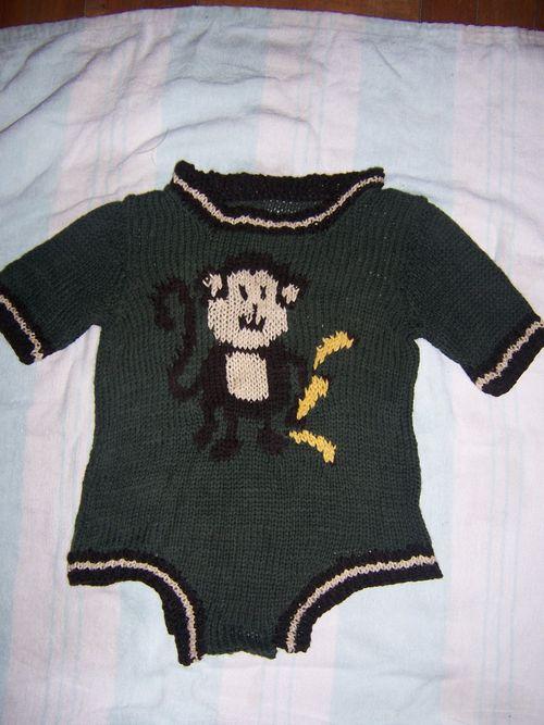 My Little Monkey Romper